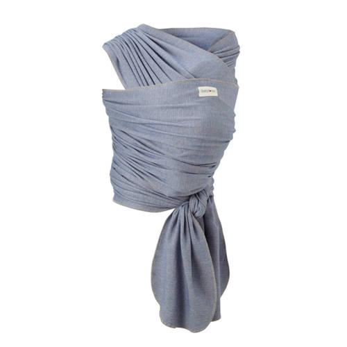 Babylonia draagdoek tricot-slen bamboo denim kopen
