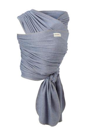 draagdoek tricot-slen bamboo denim