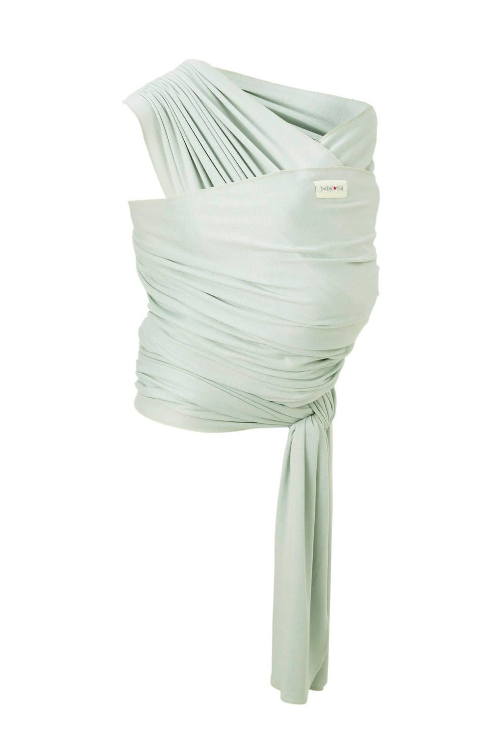 Babylonia draagdoek tricot-slen bamboo mintgroen, Mintgroen