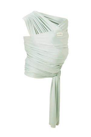 draagdoek tricot-slen bamboo mintgroen