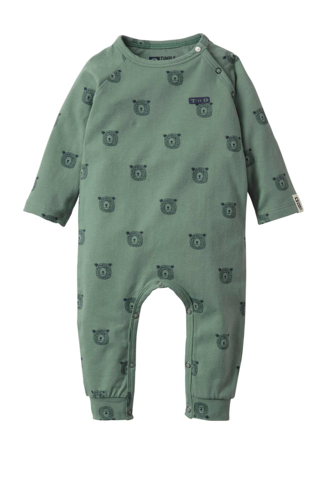 Tumble 'n Dry Zero newborn baby boxpak Qaiser, Grijsgroen