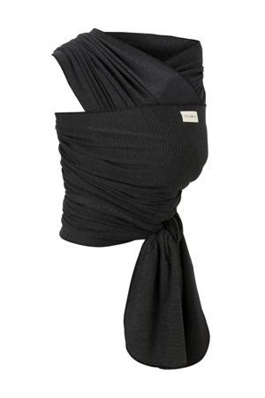 draagdoek tricot-slen bamboo zwart