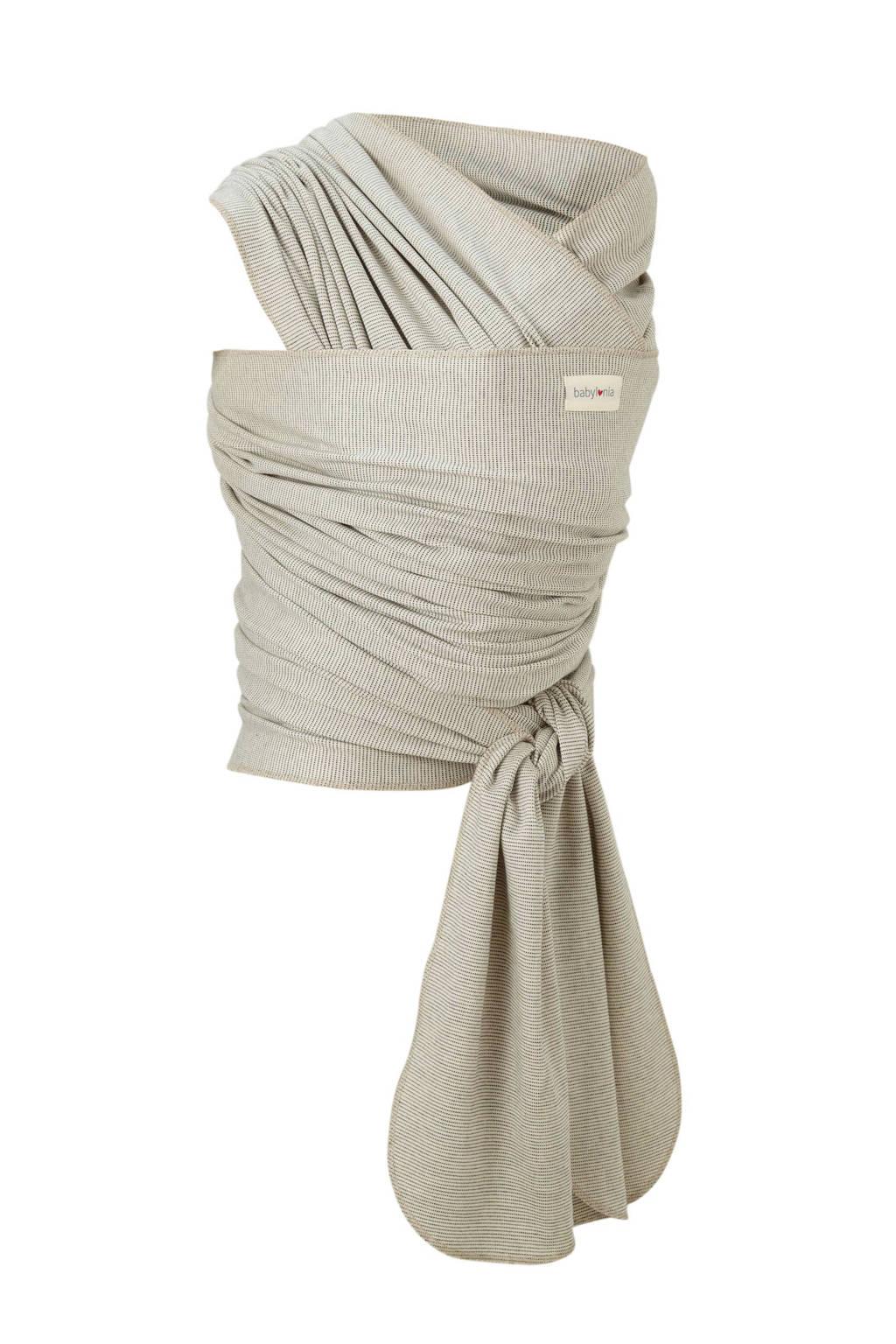 Babylonia draagdoek tricot-slen bamboo ecru, Ecru