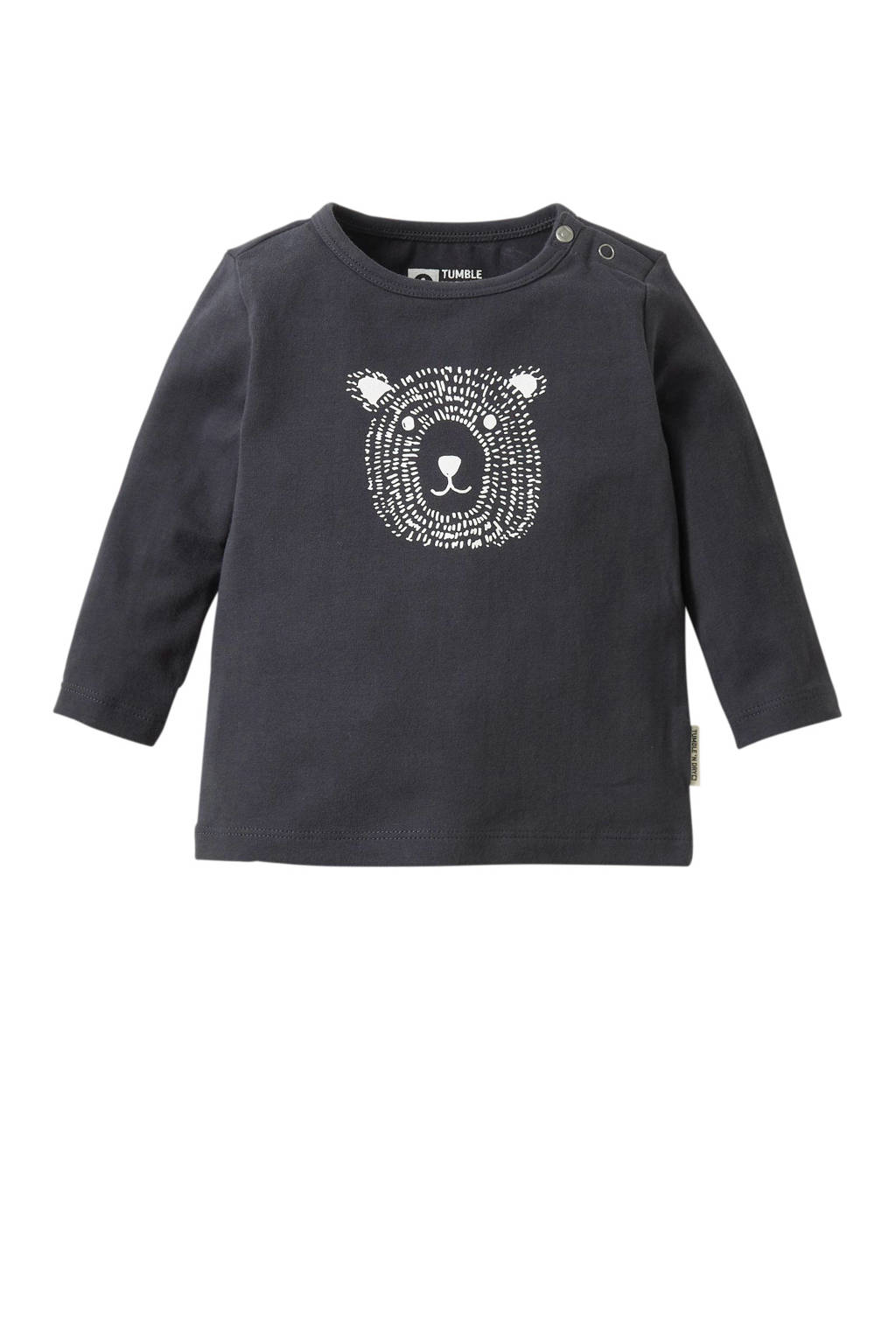 Tumble 'n Dry Zero newborn baby longsleeve, India Ink