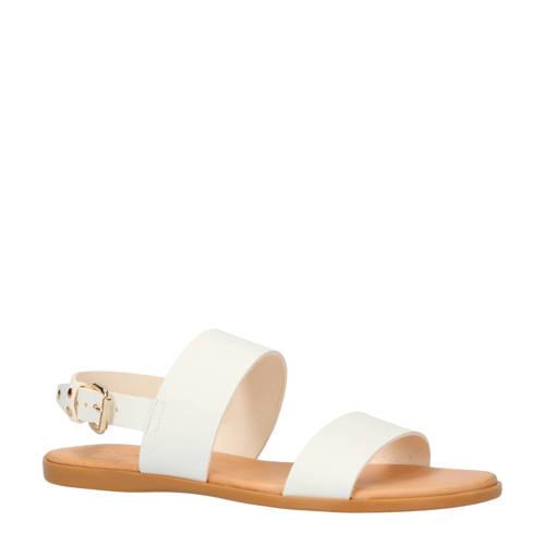 Bianco Brooke leren sandalen wit kopen