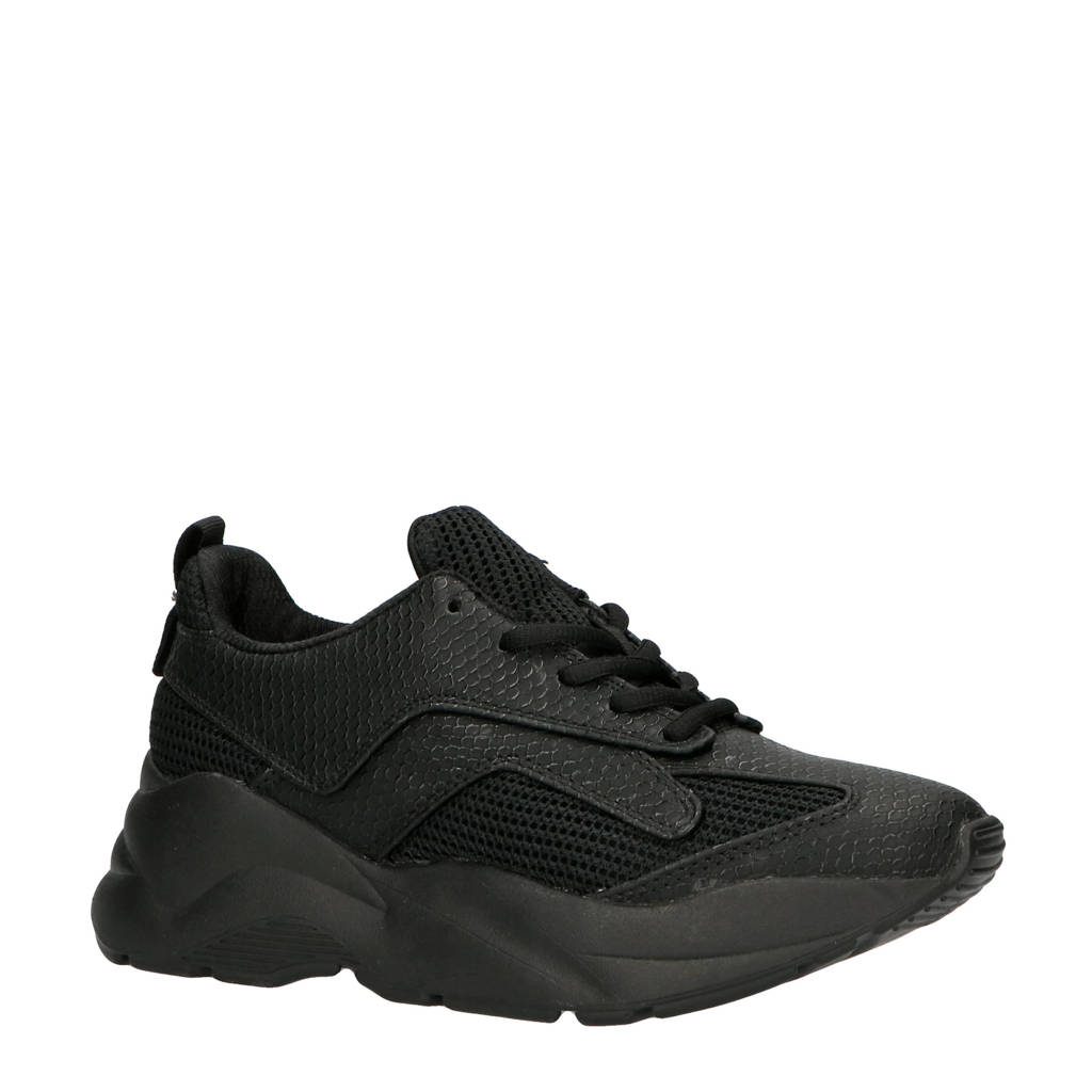 Bianco  Becky sneakers zwart, Zwart