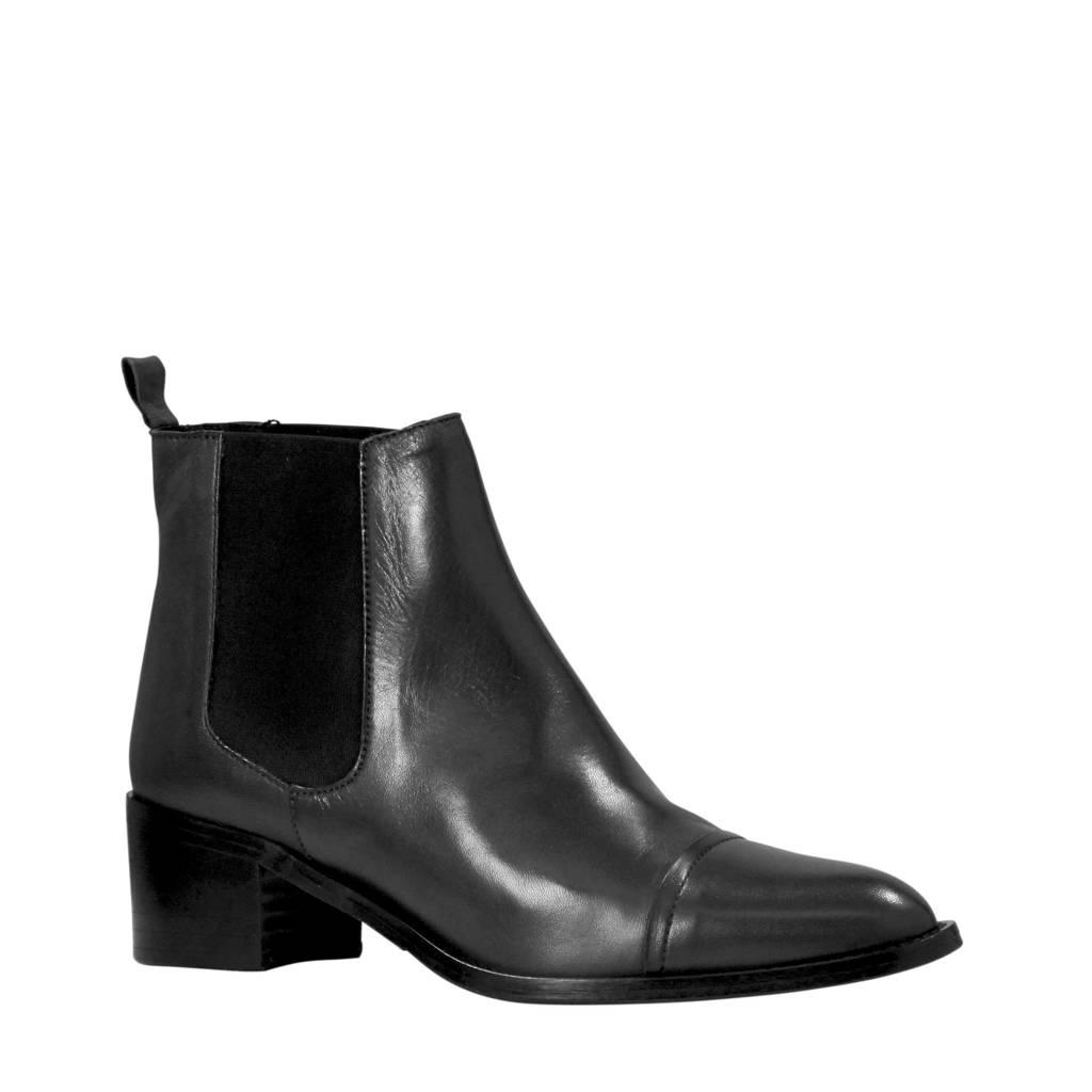 Bianco Carol chelsea boots zwart, Zwart
