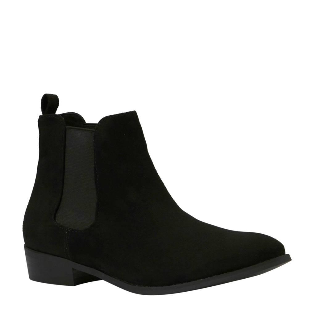 Bianco Belene chelsea boots zwart, Zwart
