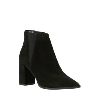 suède chelsea boots zwart