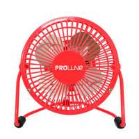 Proline MVS10AR tafelventilator, Rood