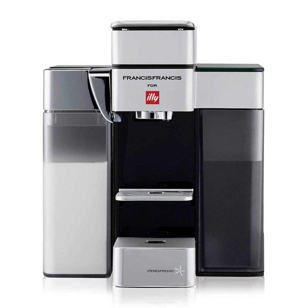 Illy Y5 & MILK koffiemachine, Wit