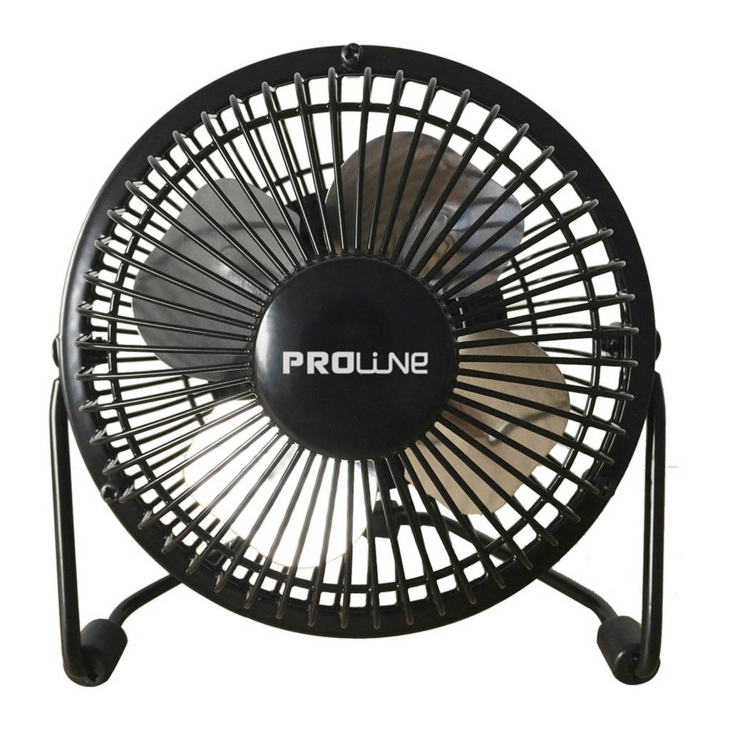 Proline MVS10AN tafelventilator, Zwart