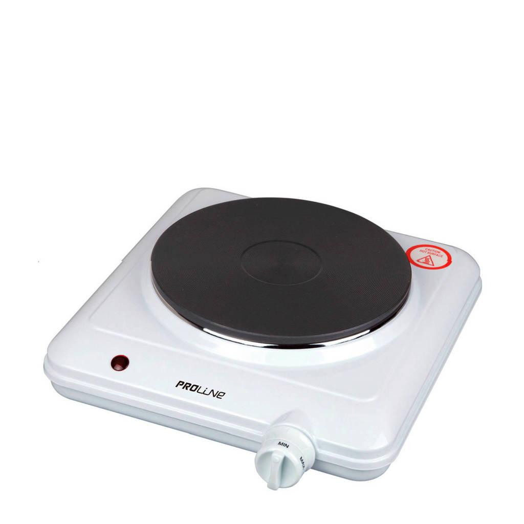 Proline HPO15 elektrische kookplaat, Wit