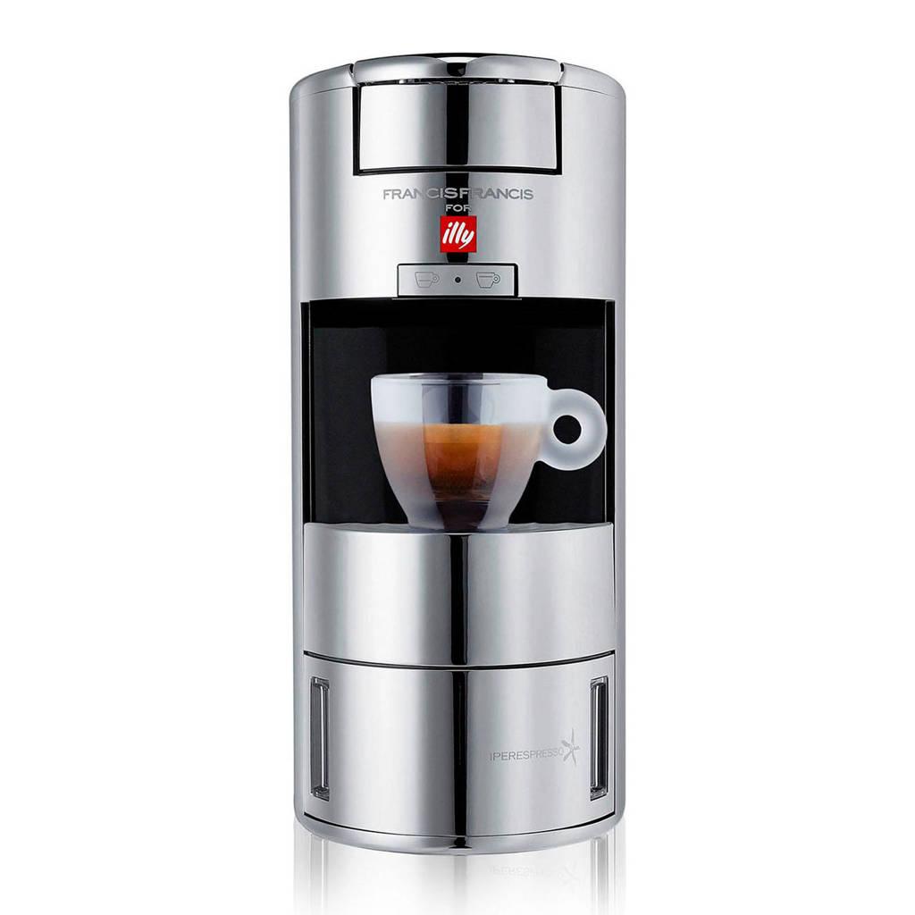Illy X9 koffiezetapparaat, Chroom