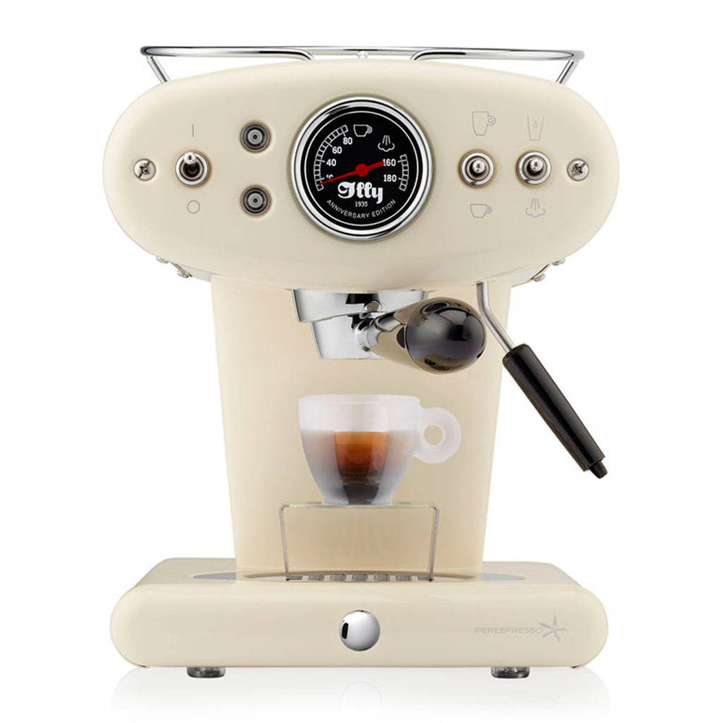 Illy X1 Anniversary Espresso & Coffee espressomachine, Almond