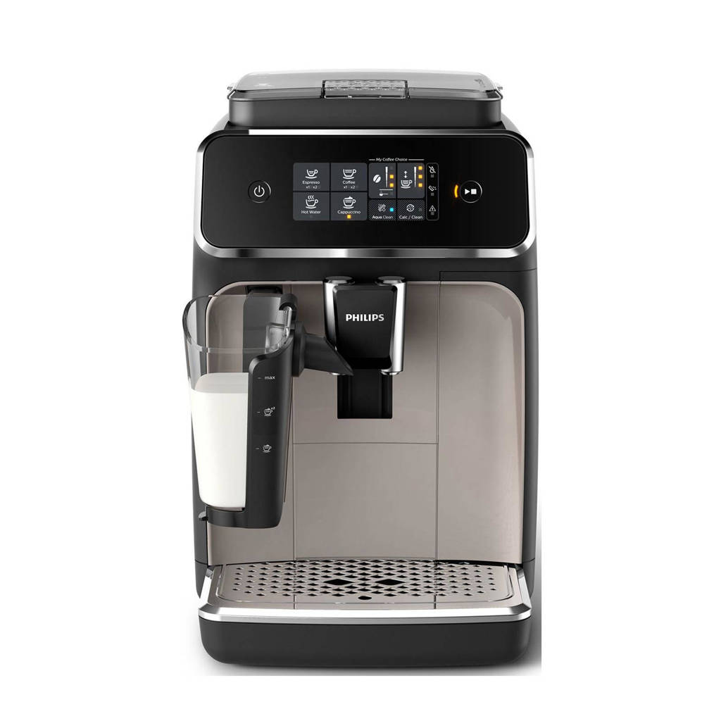 Philips EP2235/40 koffiemachine, Zwart, zilver