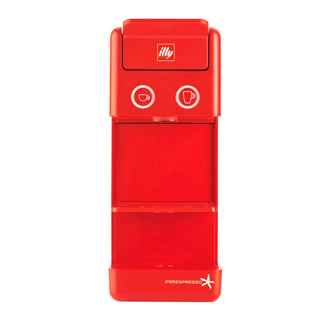 Illy Y3 espressomachine, Rood