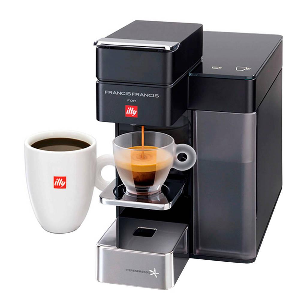 Illy Y5 ESPRESSO & CO koffiemachine, Zwart