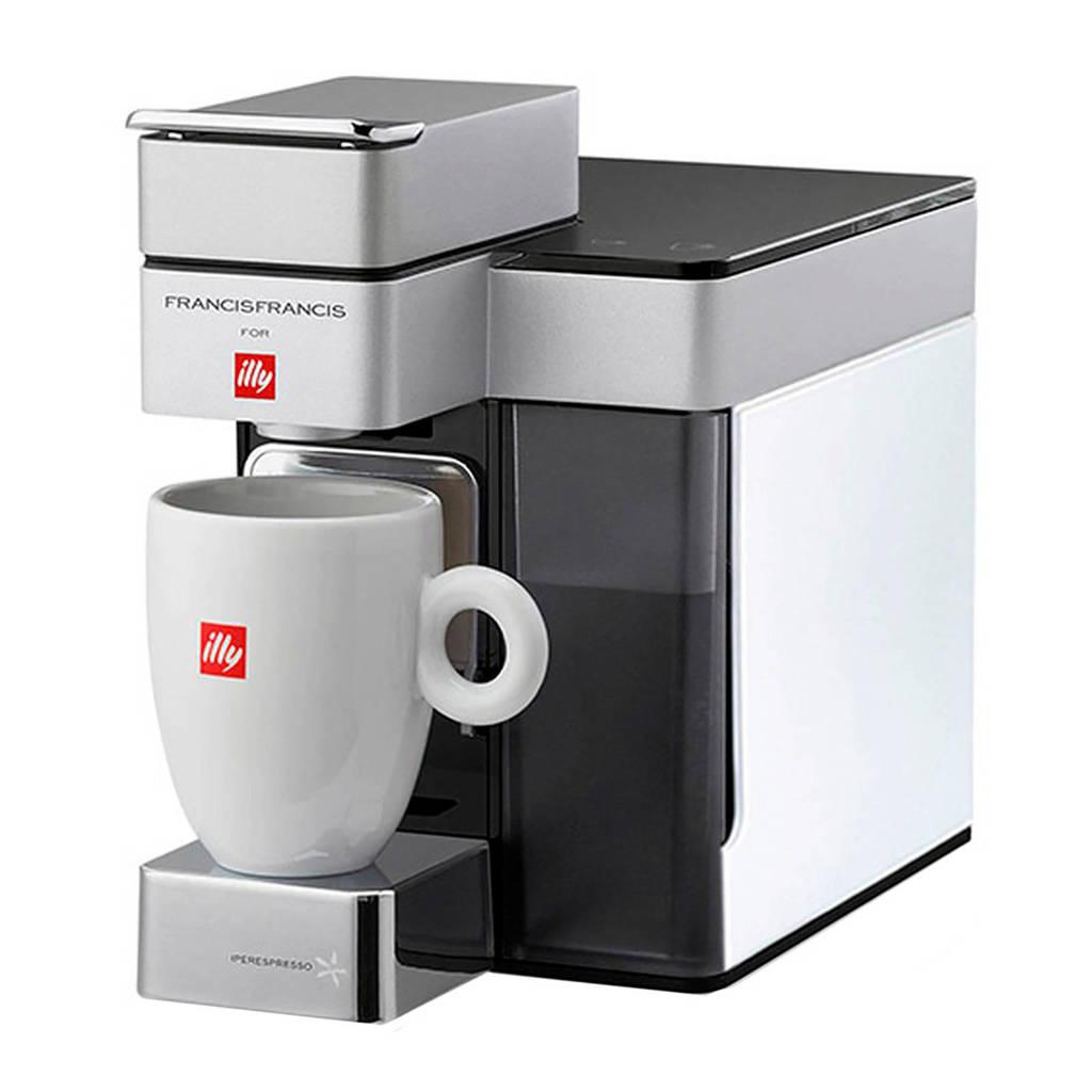 Illy Y5 ESPRESSO & CO koffiemachine, Wit