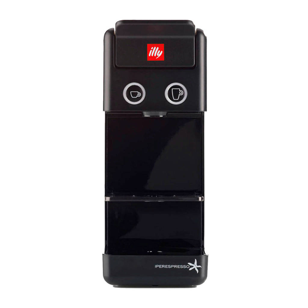 Illy Y3 espressomachine, Zwart