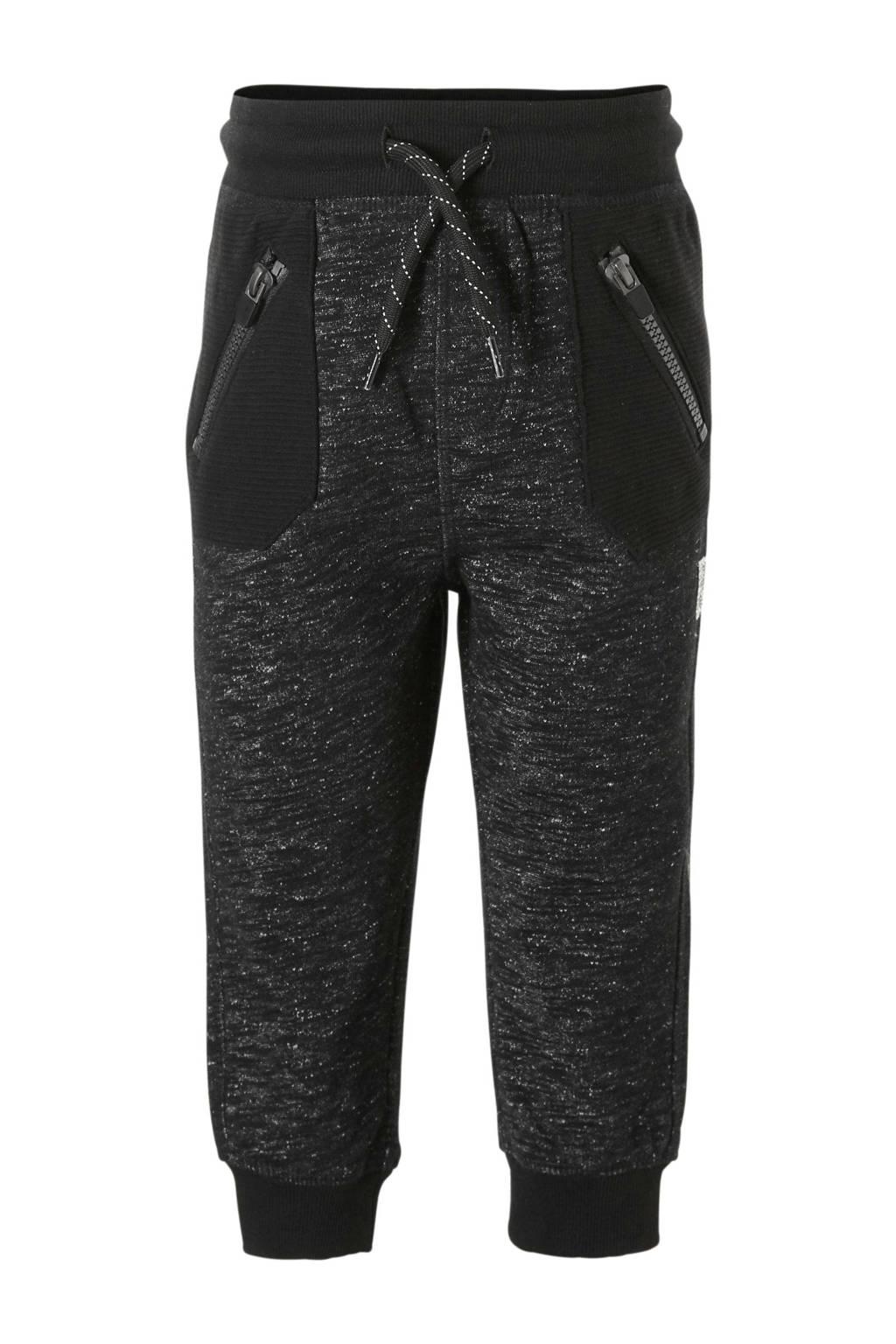 C&A Palomino   gemêleerde joggingbroek zwart, Zwart