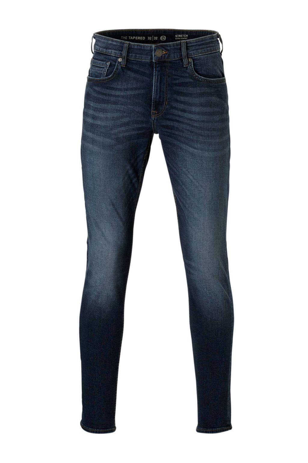 C&A The Denim  tapered tapered fit jeans, Dark denim