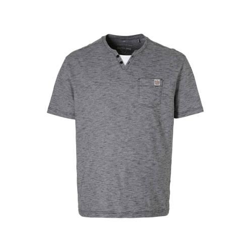 C&A XL Angelo Litrico gemêleerd T-shirt donkerblauw