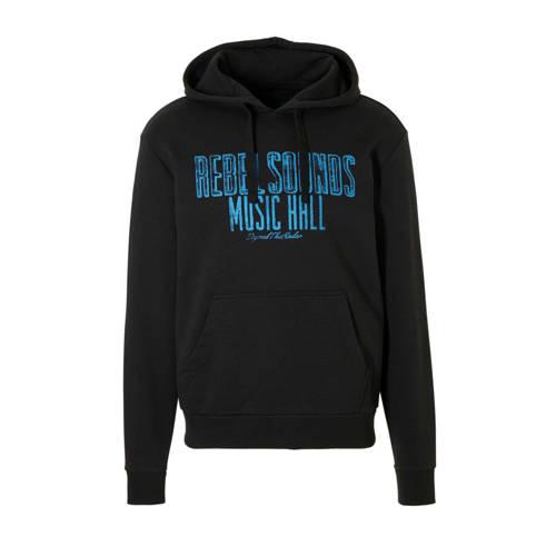 C&A Angelo Litrico hoodie met tekst zwart