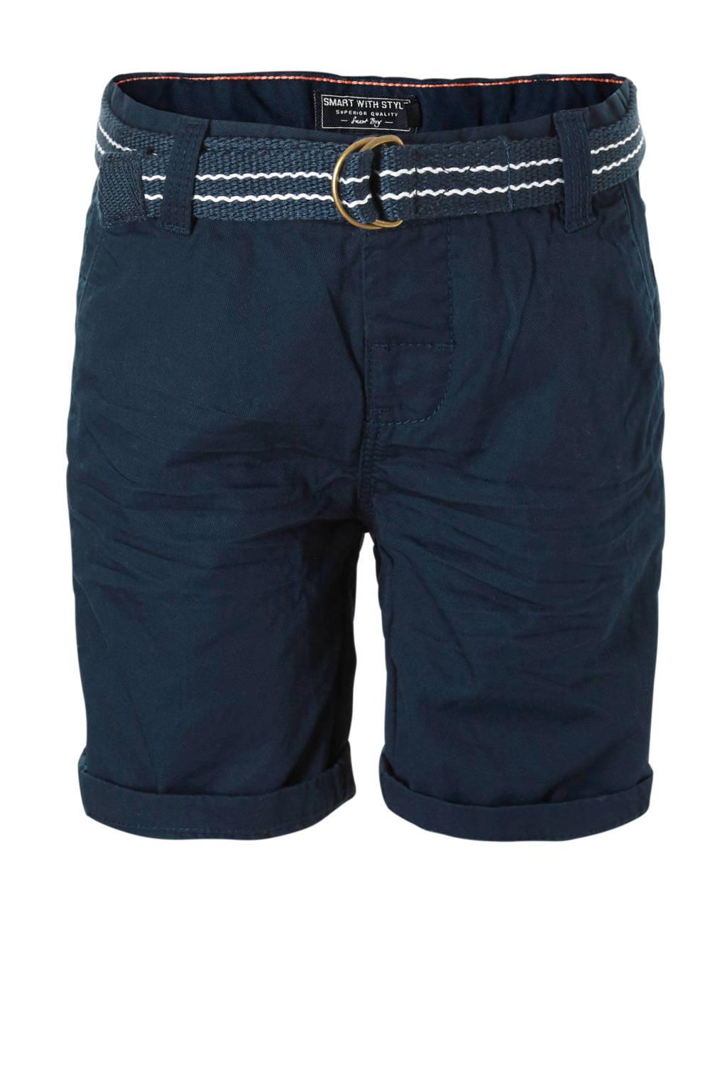 C&A Palomino short blauw, Donkerblauw