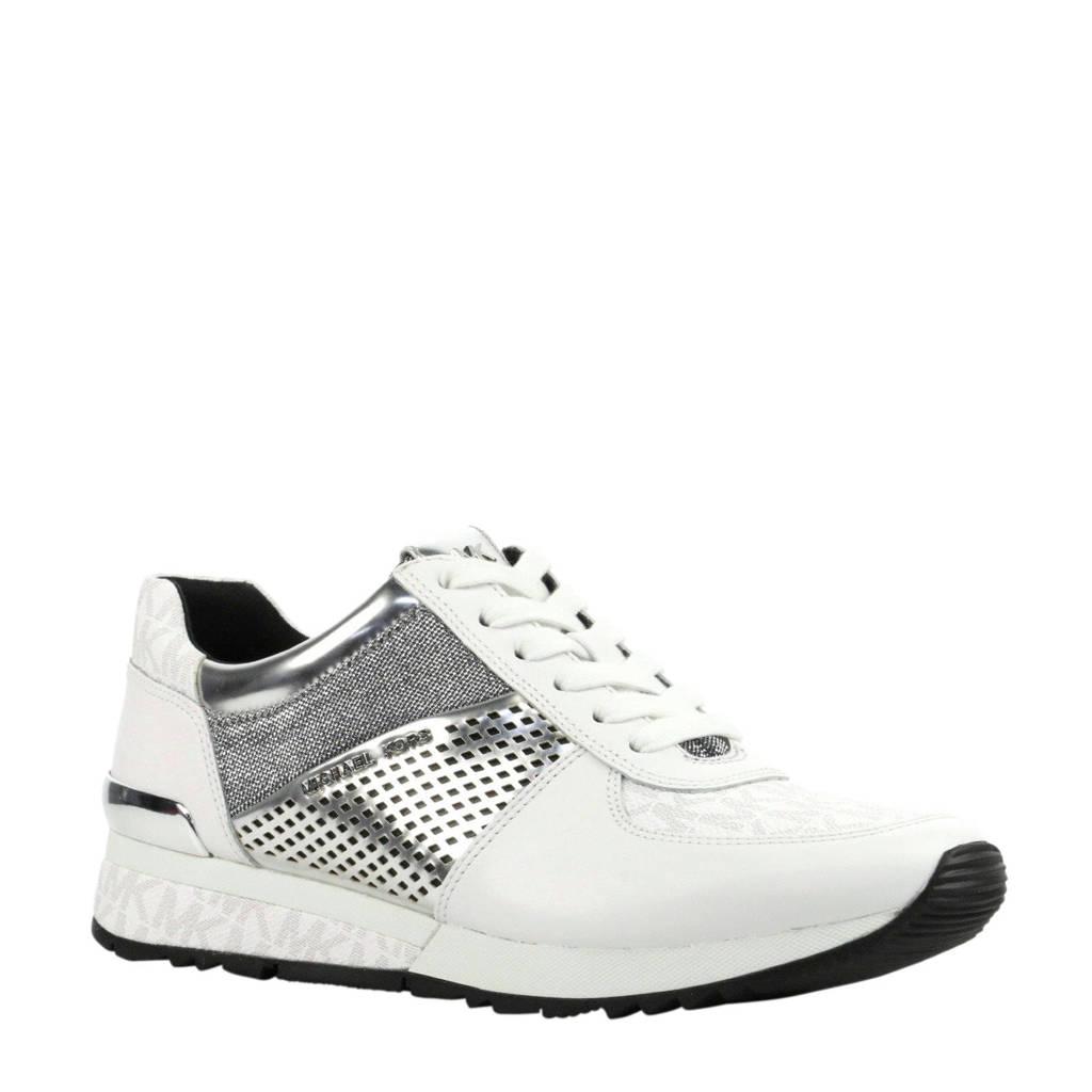 b63a6f4aaf7 Michael Kors Allie Wrap Trainer leren sneakers wit | wehkamp