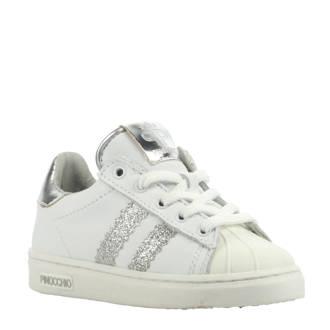 leren sneaker wit