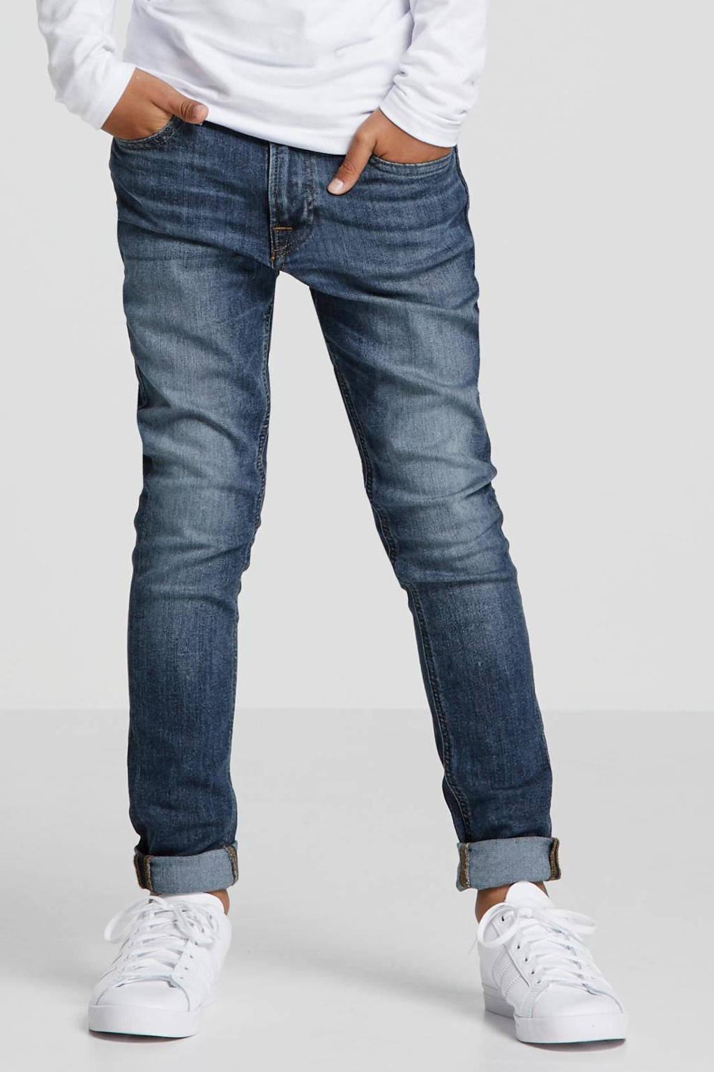 JACK & JONES JUNIOR slim fit jeans dark denim, Dark denim