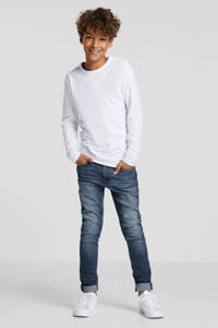 JACK & JONES JUNIOR slim fit jeans dark denim, Dark denim