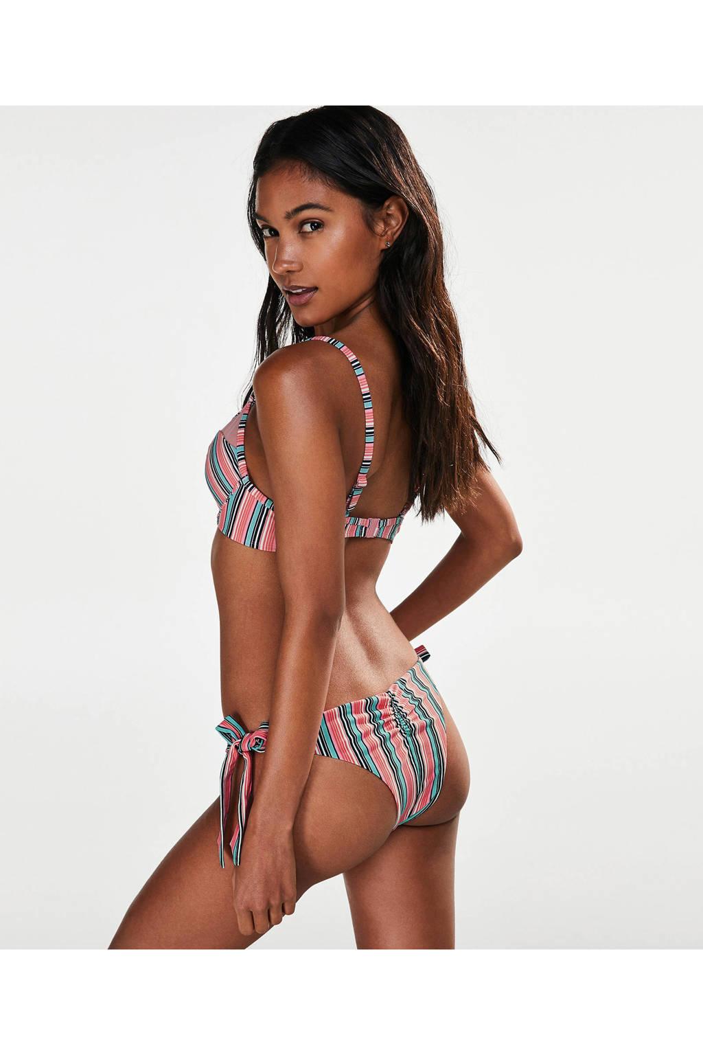 Met Bikinitop Hunkemöllerbeugel All Over Roze Print qx4FaAwxT