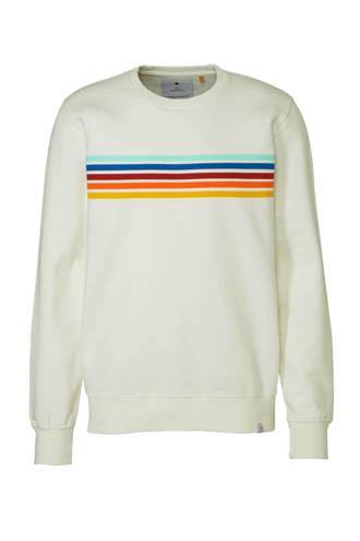 sweater met strepen wit