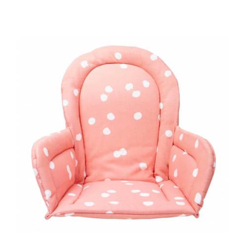 Briljant Baby stoelverkleiner spots grey pink