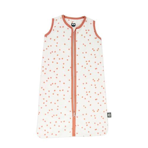 Briljant Baby baby slaapzak zomer spots grey pink