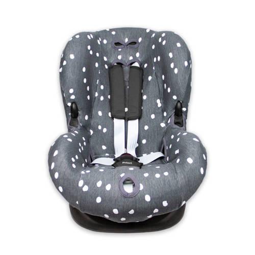 Briljant Baby autostoelhoes 1+ spots iron met interlock kopen
