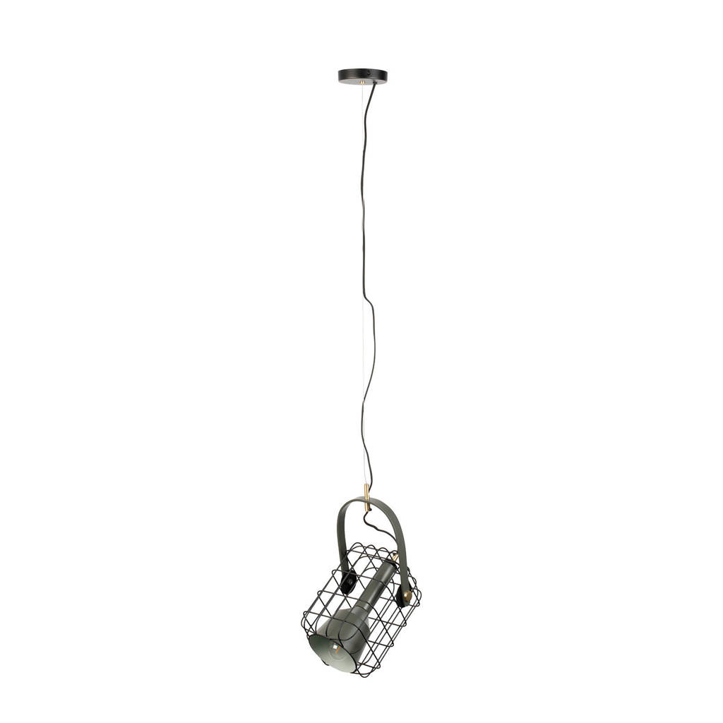 Hanglamp Cage, Zwart