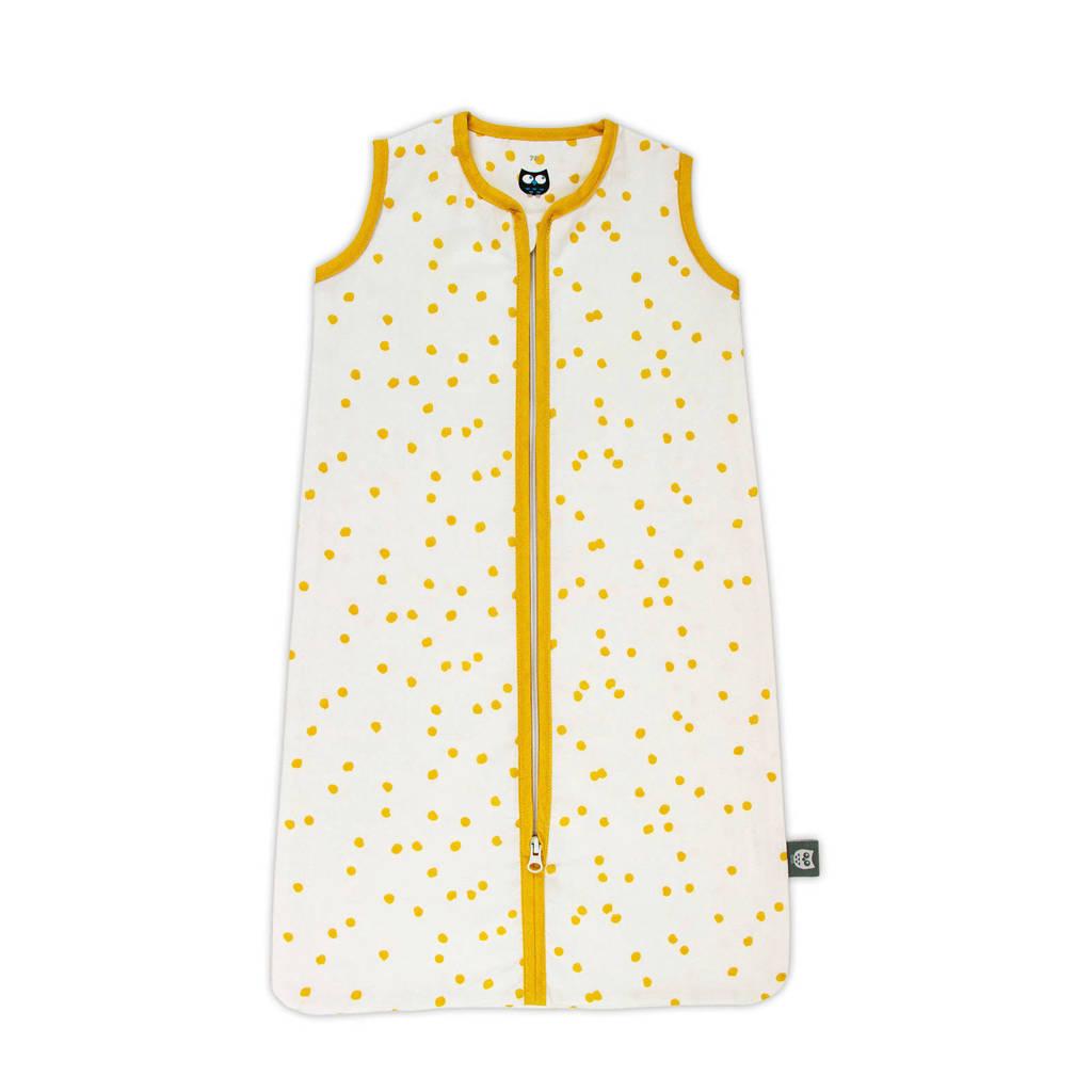 Briljant Baby baby slaapzak zomer spots oker, Wit/geel