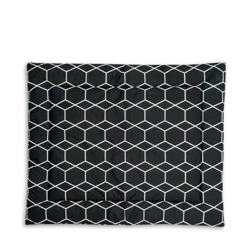 Briljant Baby boxkleed 80x100 cm grid black kopen