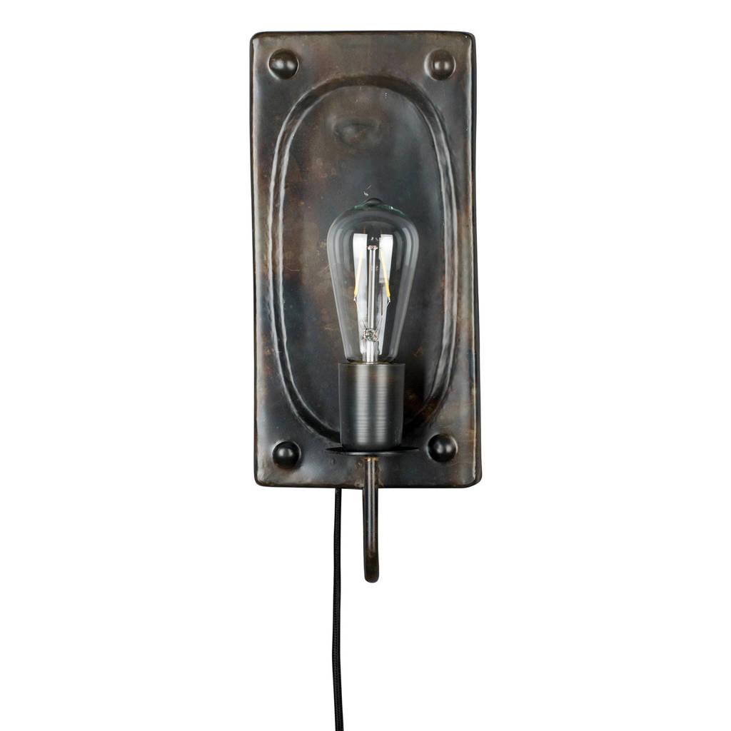 Dutchbone wandlamp Brody, Bruin