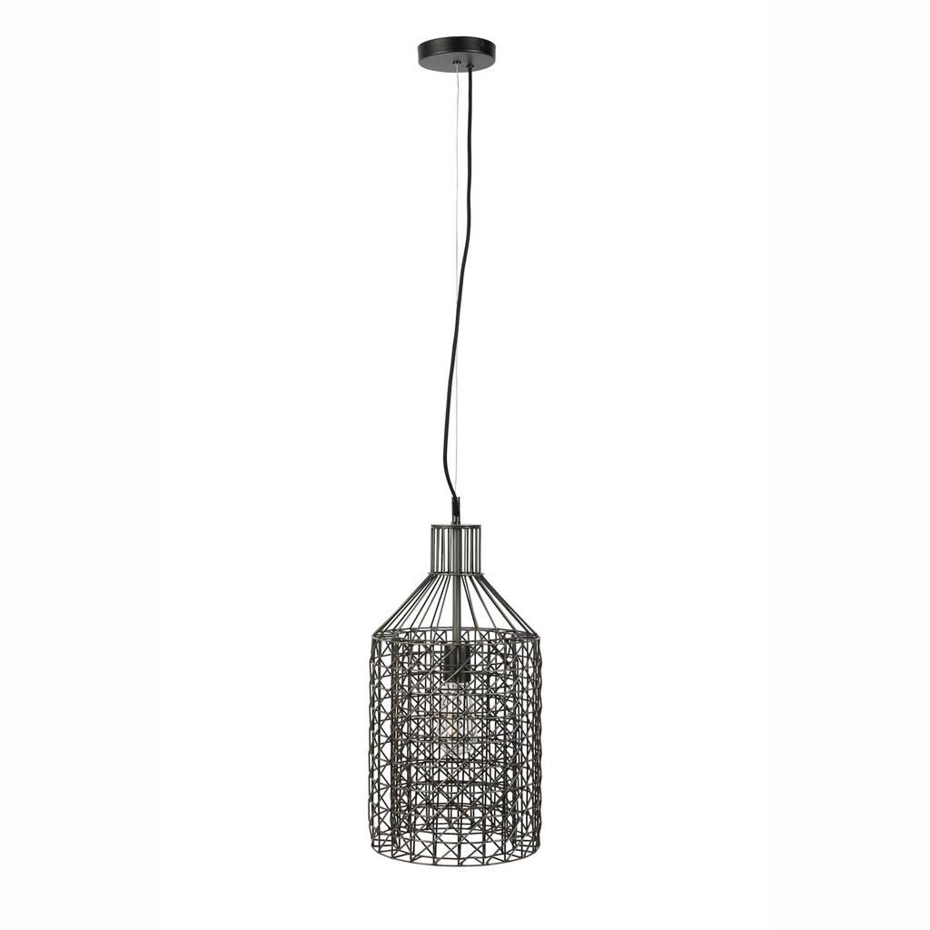 Dutchbone hanglamp Jim Tall, Zwart