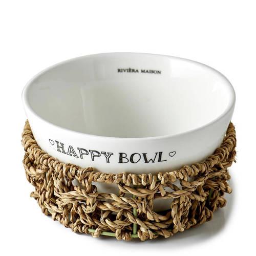 Riviera Maison Kom Happy Bowl (Ø14,5 cm) kopen