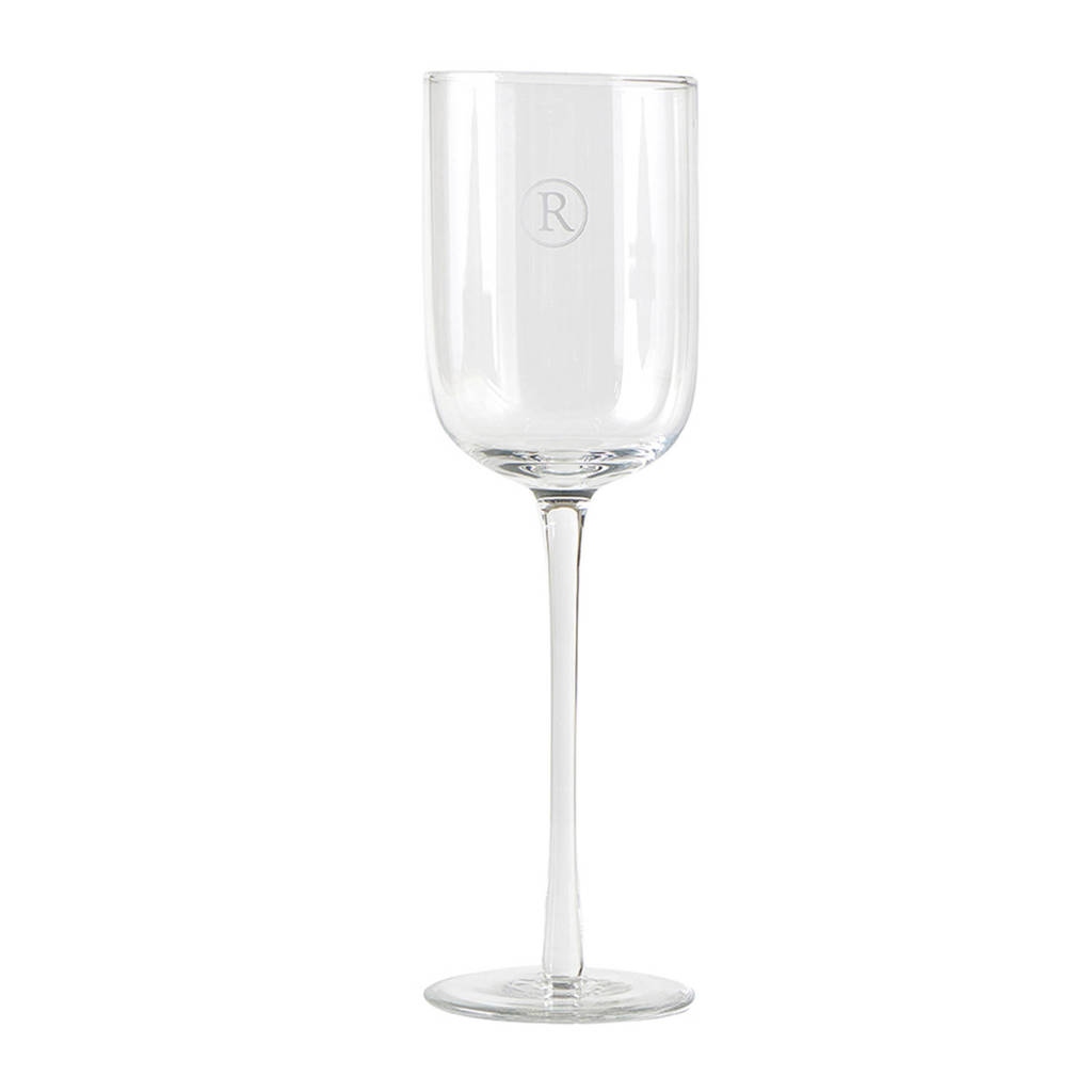 Riviera Maison wijnglas (Ø7 cm), Transparant