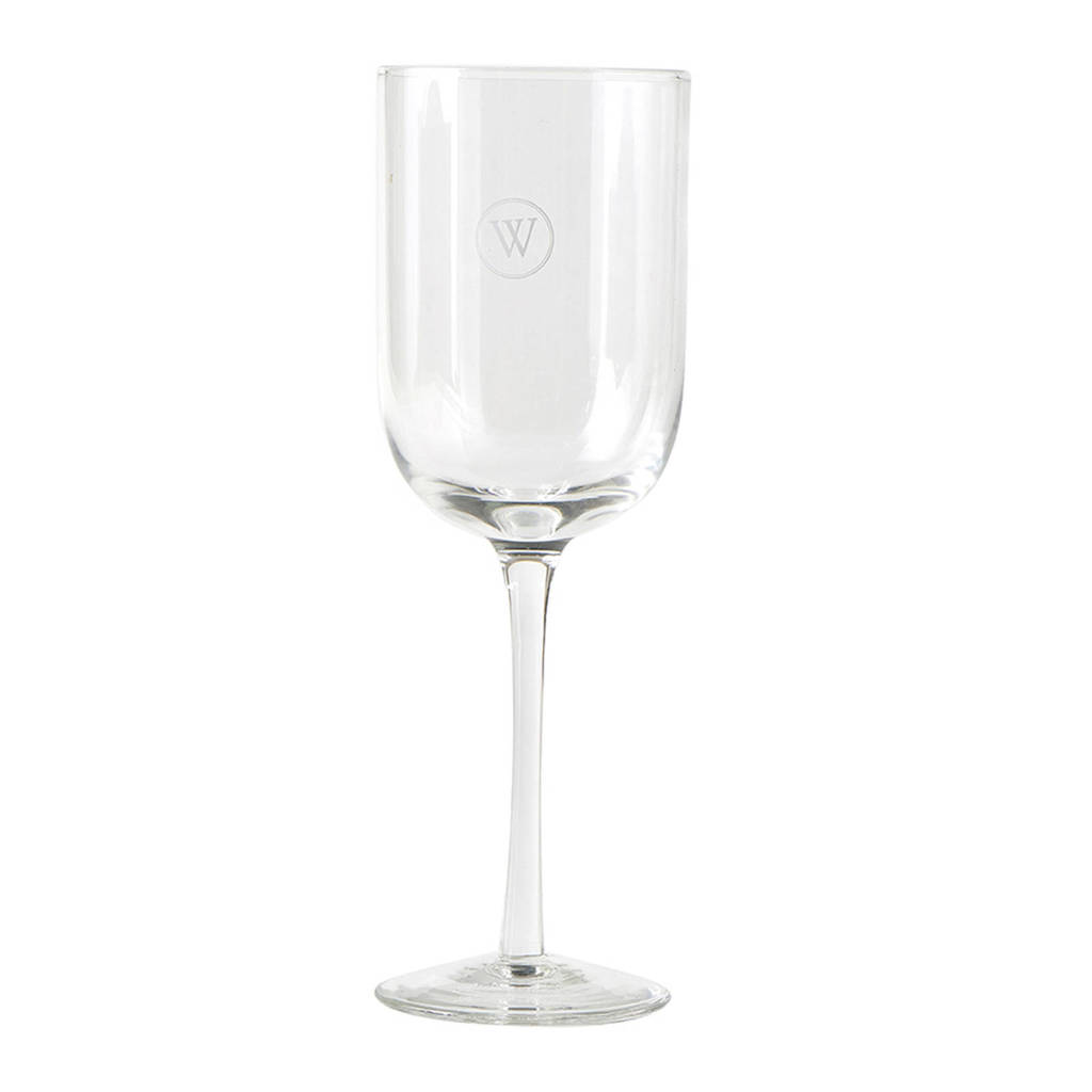 Riviera Maison wijnglas, Transparant