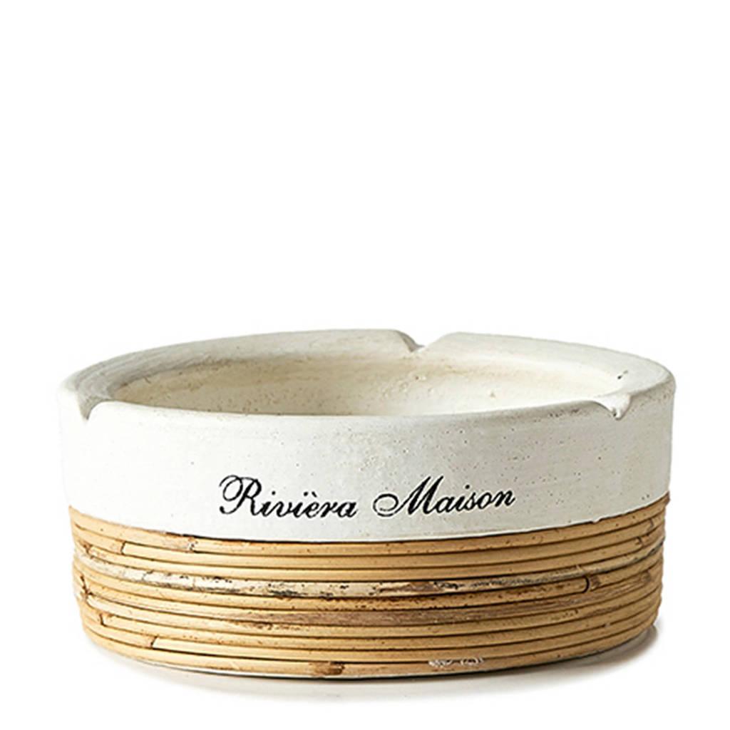 Riviera Maison asbak (Ø13 cm), Wit