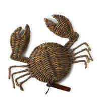 Riviera Maison gevlochten krab, Bruin