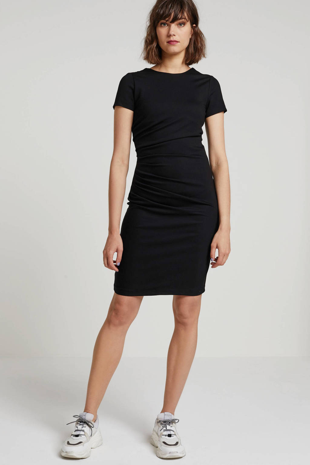 Y.A.S jurk zwart, Zwart