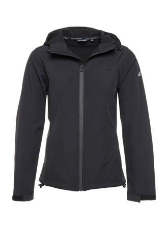 Mountain Peak softshell jas zwart